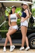 Angel B & Pamela in Perfect Stroke 420_full