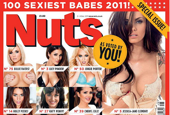 100 Sexiest Babes - Nuts Magazine