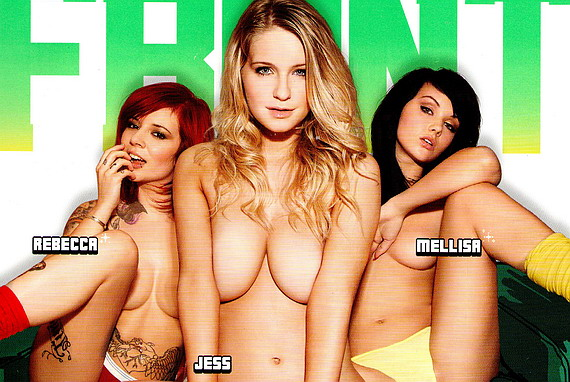 Jess Davies & Friends - Front Magazine