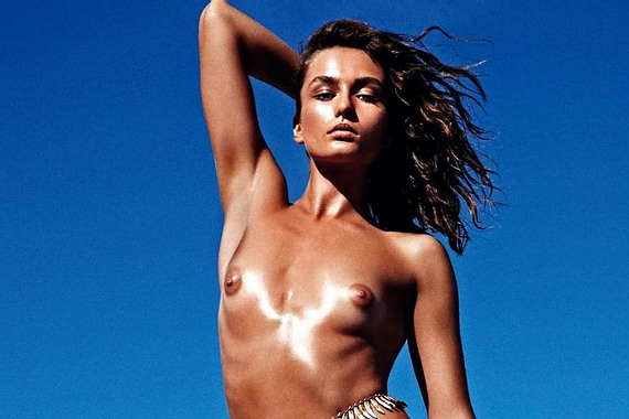 Andreea Diaconu topless, naked in the pages of Vogue France (June/July ...