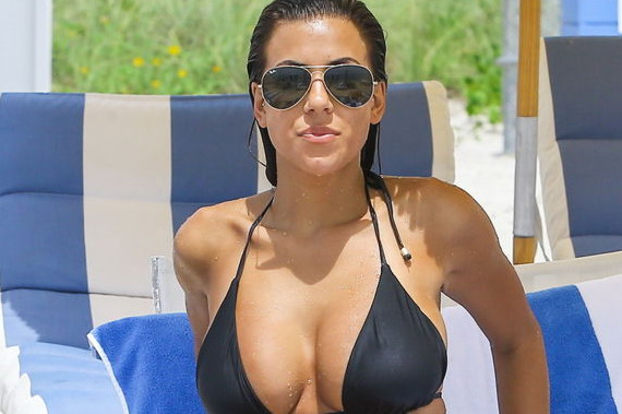 Devin Brugman Wet in a Black Bikini and other Hot Links