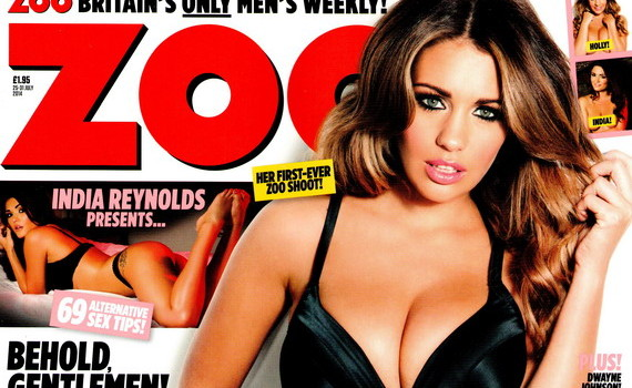 Holly Peers nude - ZOO Magazine