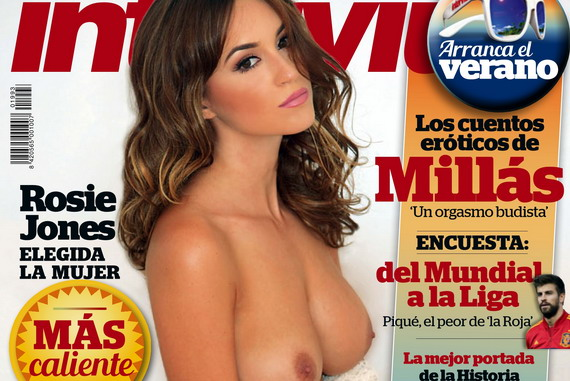 Rosie Jones – Interviu Magazine – July 2014