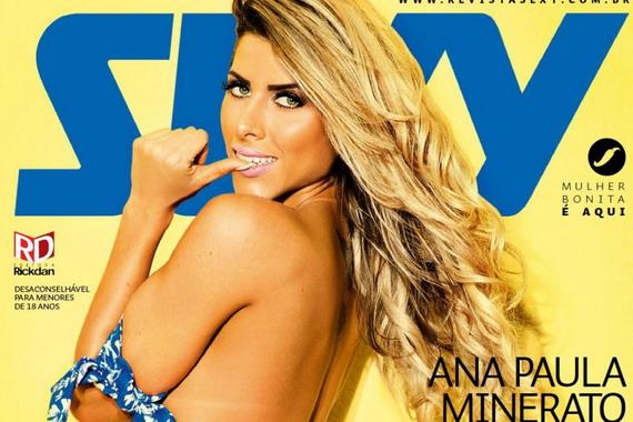 Ana Paula Minerato - Sexy Magazine