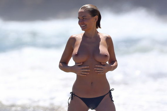 Lara Bingle Topless at the Beach and other Hot Links
