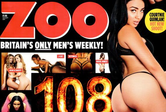Courtnie Quinlan presents 108 Unbelievable Bums!