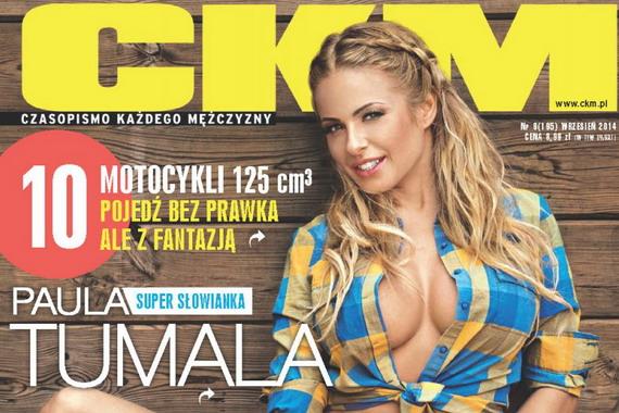 Paula Tumala topless - CKM Magazine