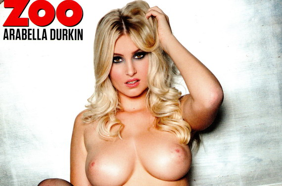 Arabella Durkin topless - ZOO Magazine