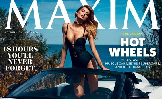 Bregje Heinen - Maxim Magazine