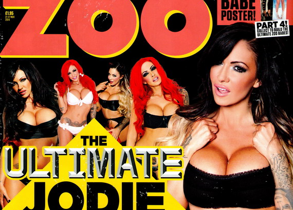 Jodie Marsh - ZOO Magazine