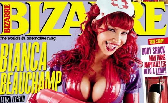 Bianca Beauchamp - Bizarre Magazine