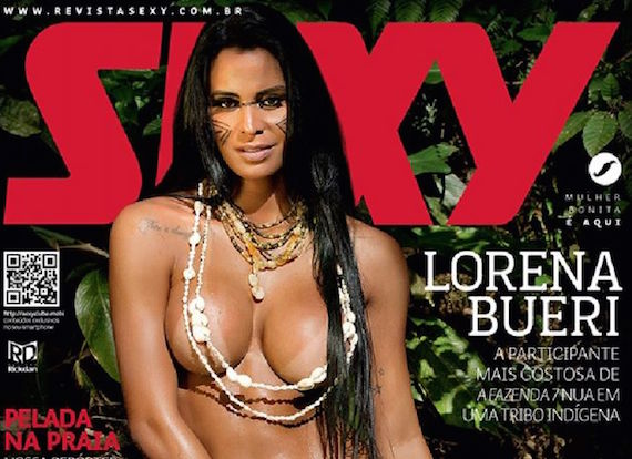 Lorena Bueri - Sexy Magazine