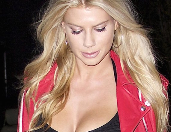 Charlotte McKinney wearing see-through top and other Hot Links