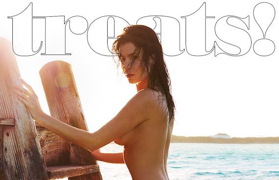 Julia Lescova nude - Treats Magazine