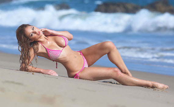 Jessica Melody - 138 Water Photoshoot in Malibu