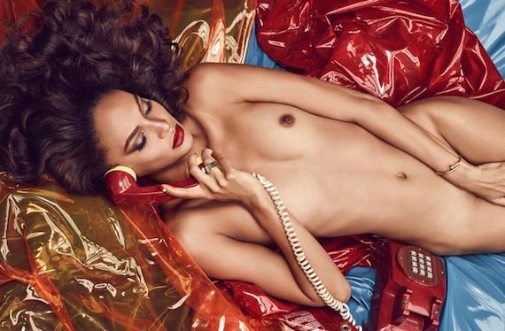 Joan Smalls nude - Lui Magazine