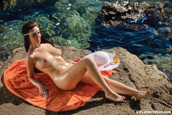 Ivana Barać - Playboy Croatia