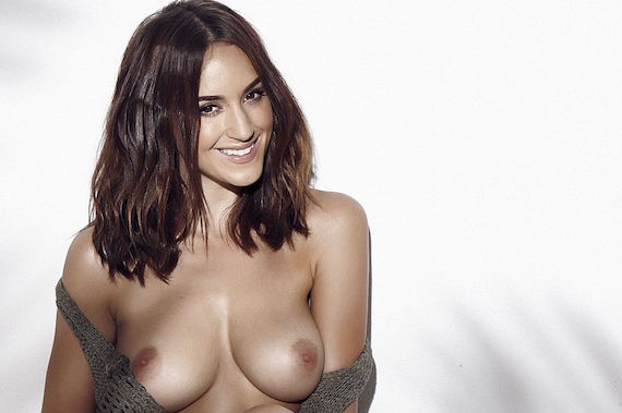rosie jones topless a photoshoot for page 3 october 17th 2015