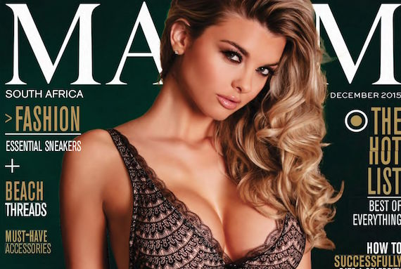 Emily Sears - Maxim South Africa