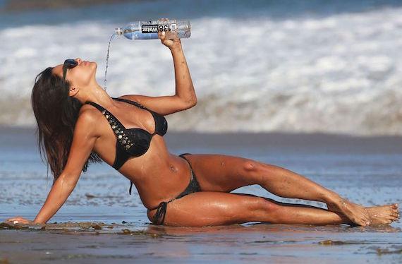 Bruna Tuna - 138 Water photoshoot in Malibu