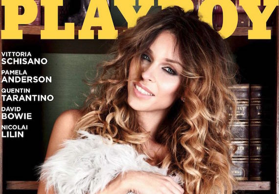 Vittoria Schisano - Playboy Italy