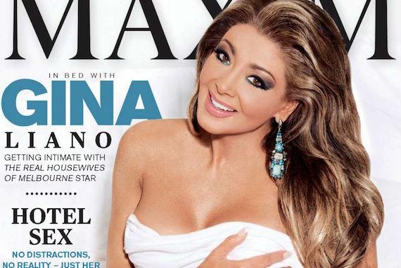 Gina Liano - Maxim Australia