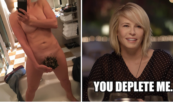 Chelsea Handler Not Giving Up the Act and other Hot Links
