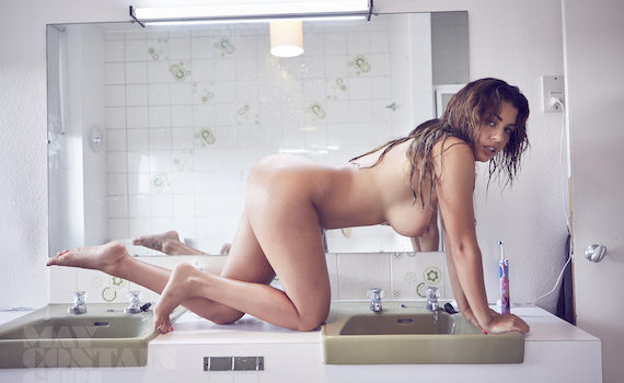 Holly Peers - May Contain Girl Photoshoot