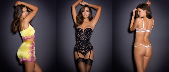 Michea Crawford - Agent Provocateur Photoshoot