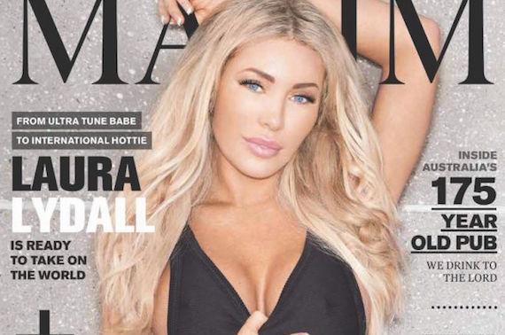 Laura Lydall - Maxim Australia