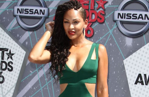 Meagan Good at the 2016 BET Awards and other Hot Links