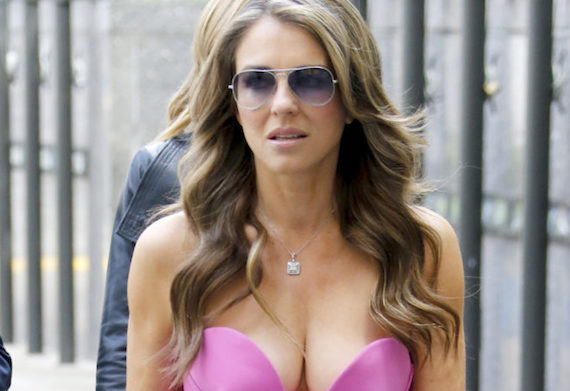 Elizabeth Hurley's Instagram Is All About Breasts and other Hot Links