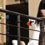 Kourtney Kardashian's Bikini Butt Against a Railing and other Hot Links