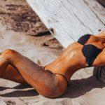 Kimberley Garner - bikini photoshoot in Ibiza