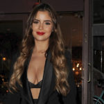 Demi Rose Mawby – cleavage at Elan Cafe in London