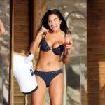 Tulisa Contostavlos - bikini candids in Greece